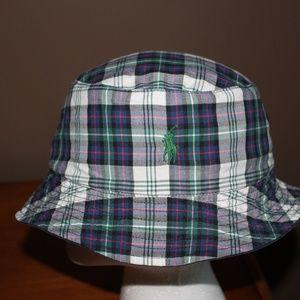 Polo by Ralph Lauren Accessories - Ralph Lauren Polo Bucket Style Summer Hat Reversib